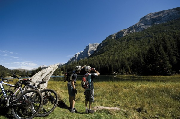 "MTB ""Country"" Route in den Brenta Dolomiten"
