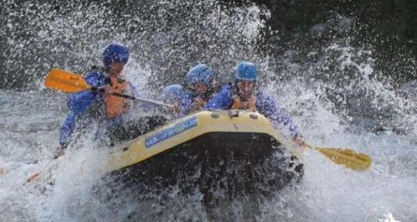 Rafting sul fiume Noce
